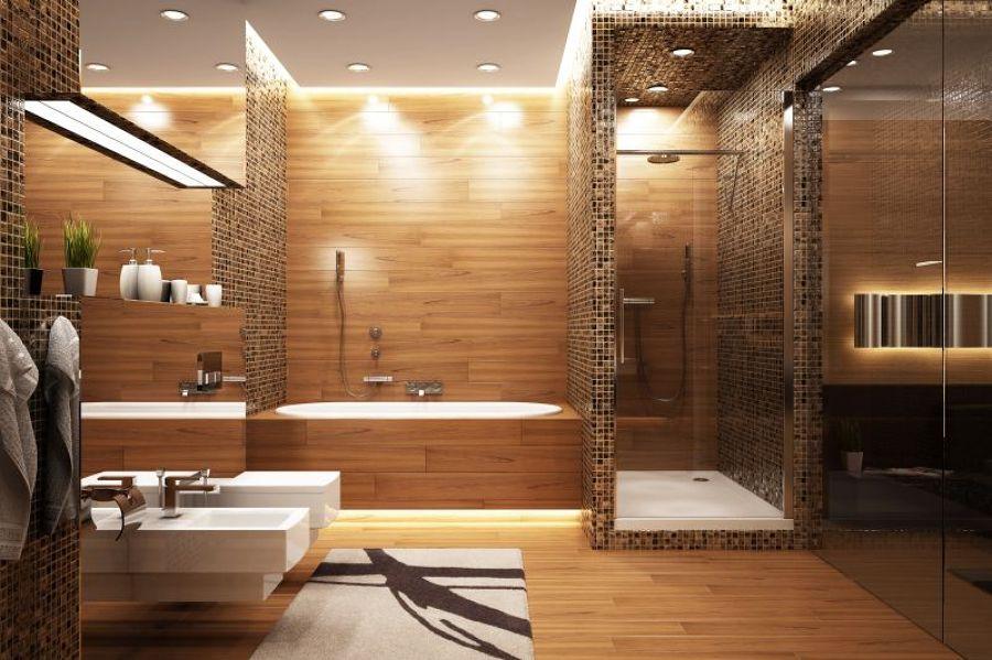 Dekoration badezimmer grun