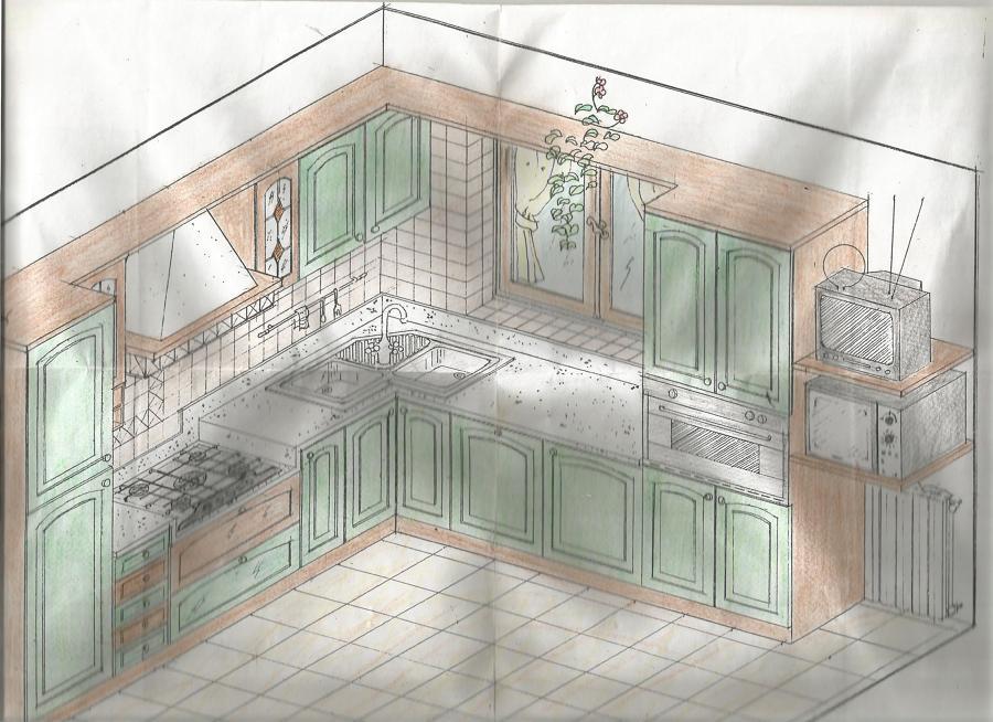 Progettare Cucina In Muratura. Amazing Arredamento With Progettare ...
