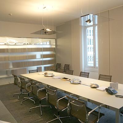 Ristrutturazione ufficio: la sala riunioni