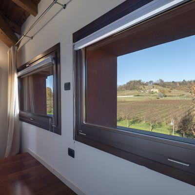 Finestre e porte finestre in legno