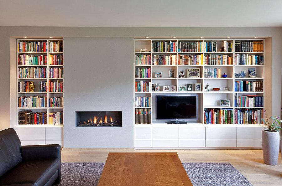 Praticità e stile: librerie con mobile tv integrato