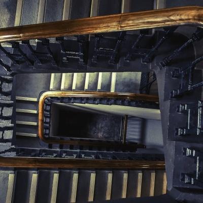 La pulizia delle scale