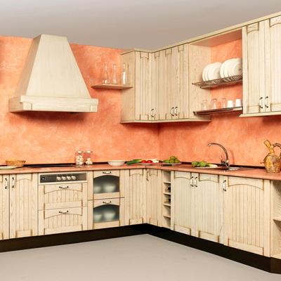 Dipingere una casa di campagna in stile vintage