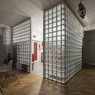 Costruire parete in vetrocemnto