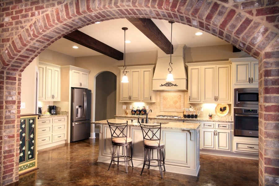 Preventivi e guida per aprire un muro in casa habitissimo - Archi mattoni vista in cucina ...