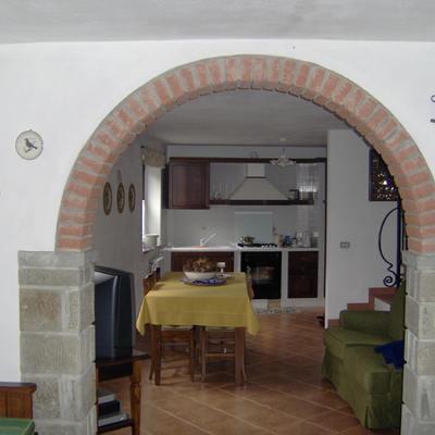 Come realizzare un arco in muratura prezzi e consigli - Archi mattoni vista in cucina ...