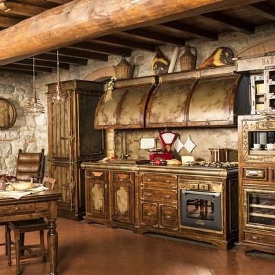 Arredamento Cucina Rustica. Trendy Old World Italian Spanish Tuscan ...