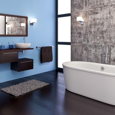 Imbiancare appartamento in blu