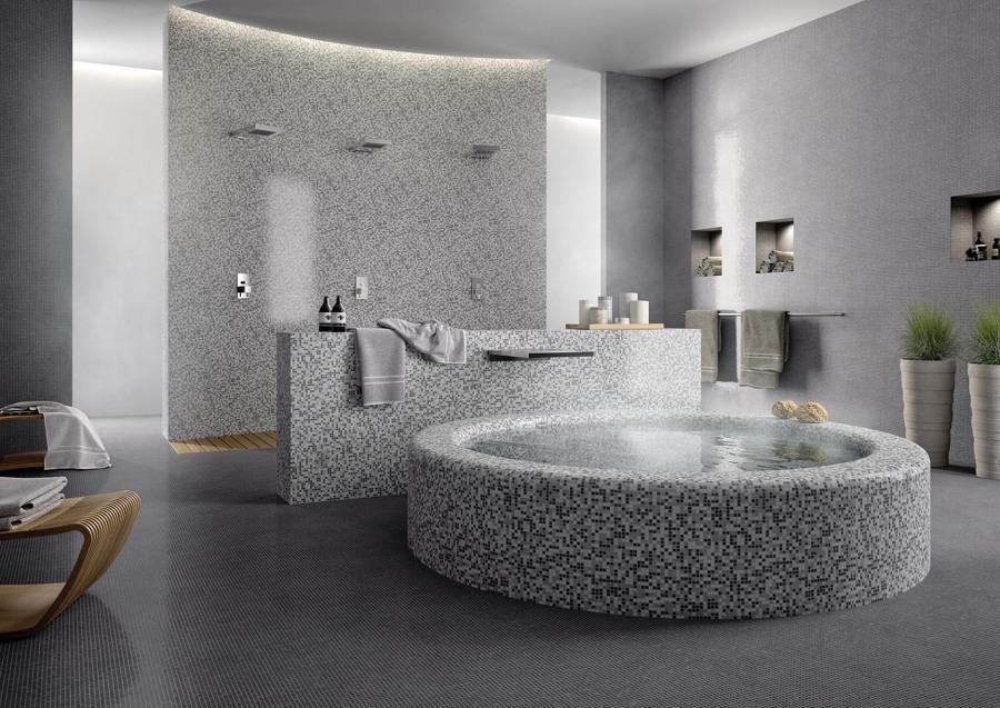 Bagno Mosaico Box Doccia : Preventivo mosaico bagno online habitissimo
