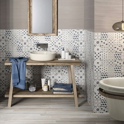 Cambiare piastrelle in bagno tipologie e prezzi habitissimo - Bagno maioliche ...