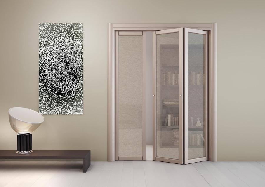 Preventivi e idee per cambiare porte habitissimo - Porta a soffietto in vetro ...