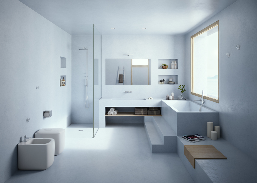 Prezzi cambiare vasca da bagno online habitissimo - Coprire piastrelle bagno resina ...