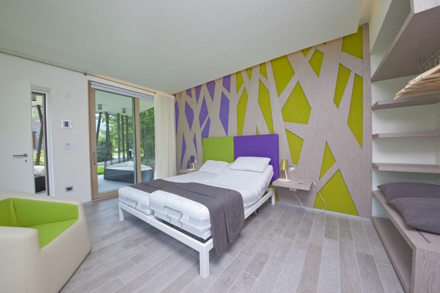 Camera d'albergo funzionale