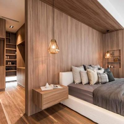 Rivestire casa con il legno preventivi e tipologie for Camera da letto in stile cabina