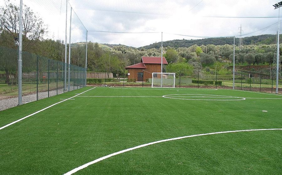 Campo da calcio outdoor
