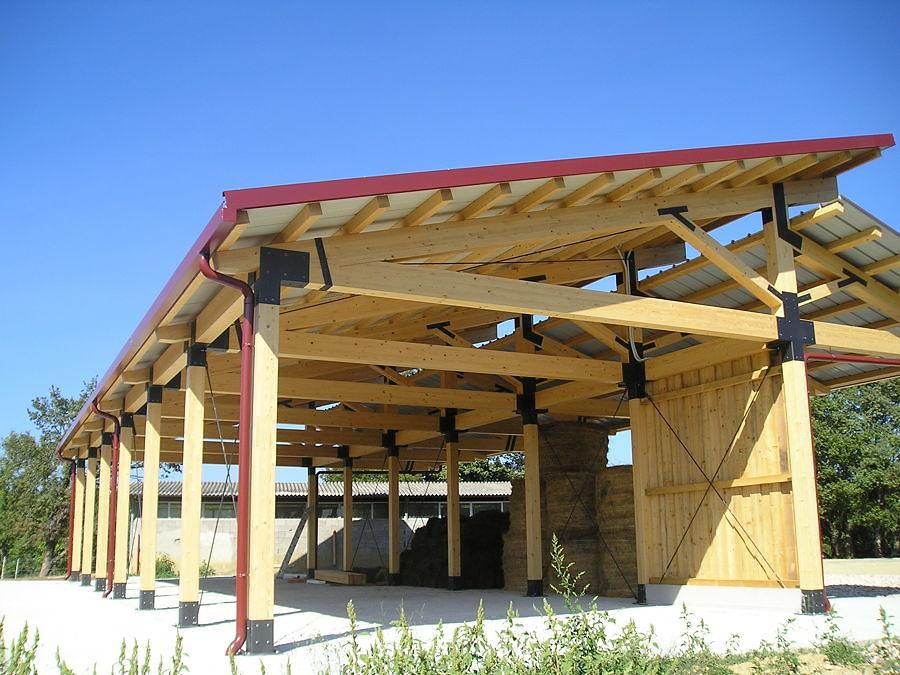 Capannone in legno vantaggi e caratteristiche habitissimo for Stima del costo portico