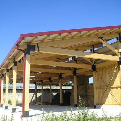 Capannone in legno vantaggi e caratteristiche habitissimo for Capannoni in legno prezzi