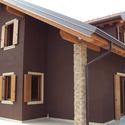 Ristrutturazione facciata condominiale costi e norme habitissimo - Colorare casa esterno ...