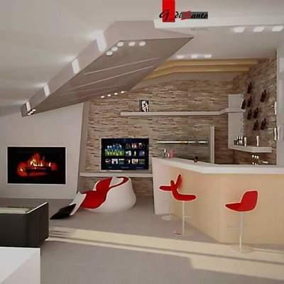 Preventivo realizzare lavori cartongesso in casa online - Angolo bar a casa ...