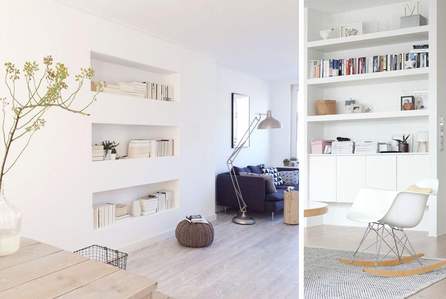 Prezzi realizzare lavori cartongesso in casa online for Mensole arredo salotto