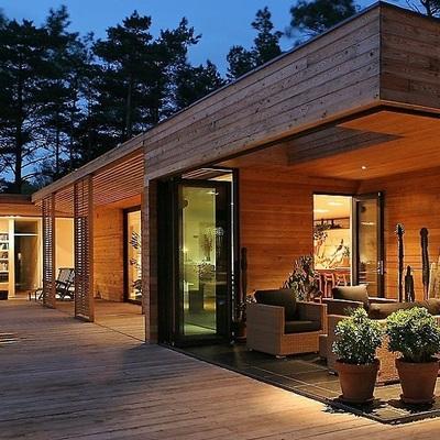 Una casa in legno per una scelta ecologica