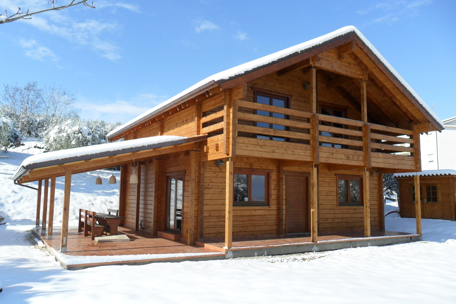 Prezzi per costruire una casa prefabbricata in legno habitissimo - Casa prefabbricata legno prezzi ...