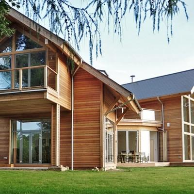 Preventivi e guida alla costruzione di case in legno - Casa legno moderna ...