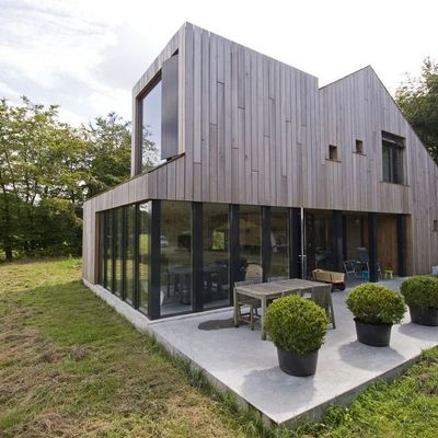 Casa in legno in bioedilizia