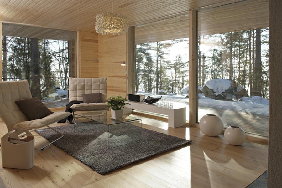 Preventivo costruzione casa prefabbricata chiavi mano for Case prefabbricate moderne interni