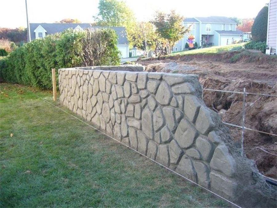 Preventivo Muro Cemento Armato.Prezzi E Materiali Per Costruire Un Muro Di Recinzione Habitissimo