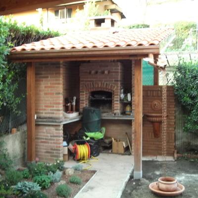 Costruire un barbecue quanto costa e come progettarlo for Quanto costa costruire un garage