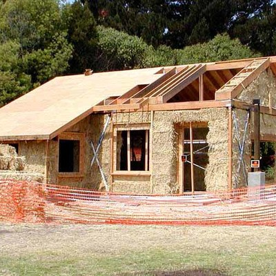 Costruire casa in paglia
