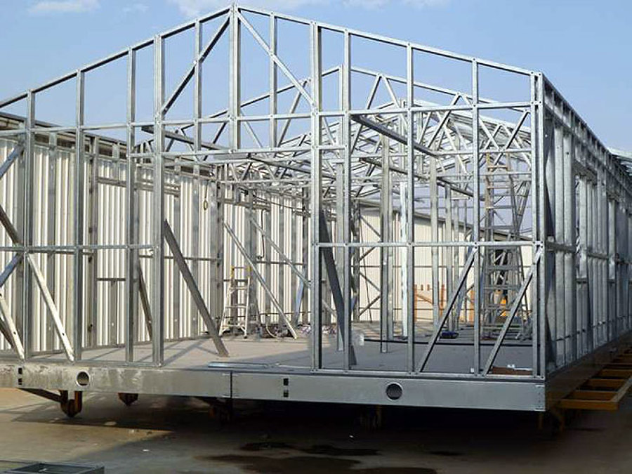 Costi per costruire una casa prefabbricata in acciaio habitissimo - Struttura in ferro per casa ...