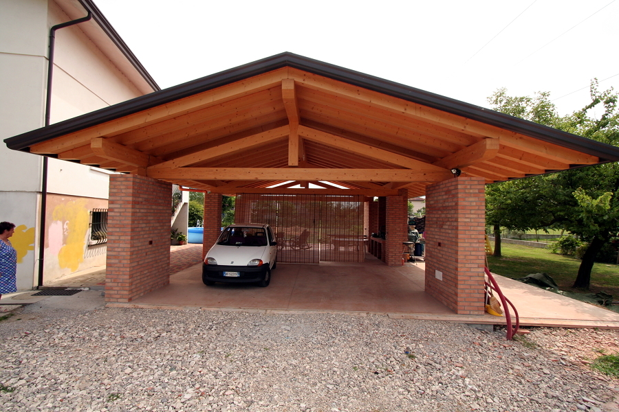 Prezzi e guida per costruire un garage in muratura for 2 piani di garage per auto con soppalco