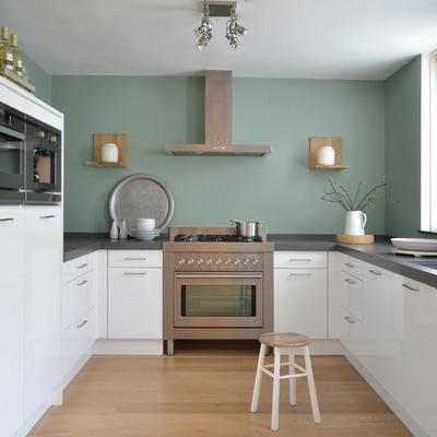 Prezzi e vernici per dipingere un appartamento habitissimo - Cucina tutta bianca ...