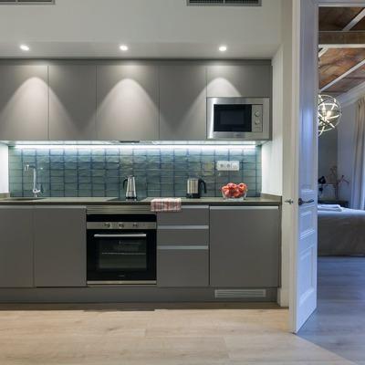 Cucina in alluminio