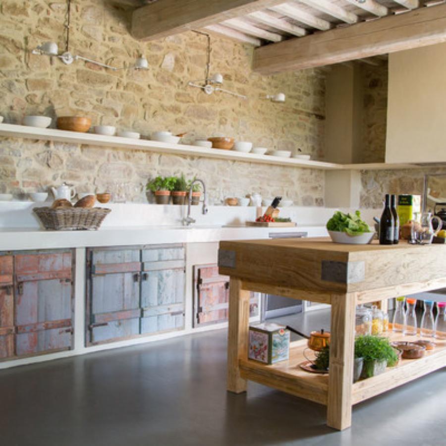 Rinnovare la cucina trucchi e prezzi habitissimo for Tende per ambiente rustico