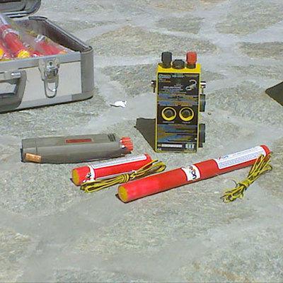 Demolizioni con cartucce deflagranti