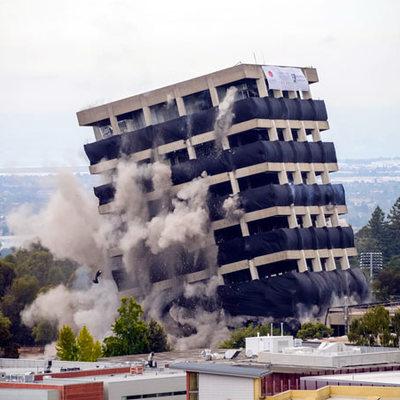 Demolizioni con esplosivi