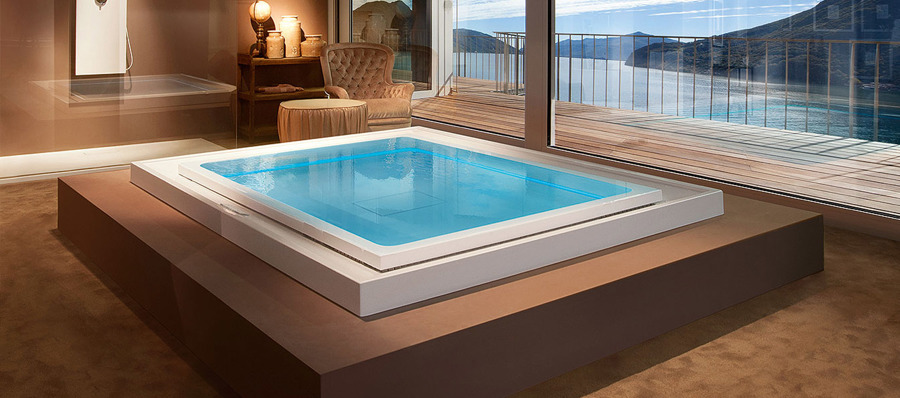 Come costruire una piscina idromassaggio costi e idee habitissimo - Costruire piscina costi ...