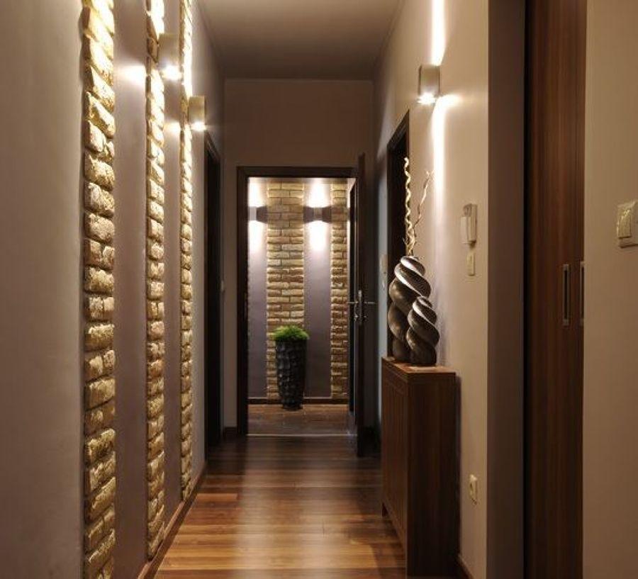 Dipingere corridoio buio