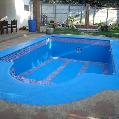 Drenaggio piscina per manutenzione