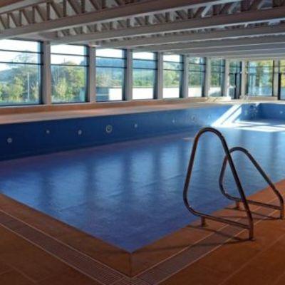 Drenaggio piscina per riparazione fondale