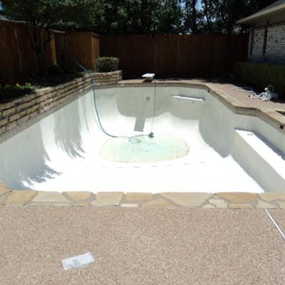 Drenaggio piscina per sostituzione acqua