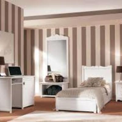 Idee per realizzare una pittura decorativa a milano habitissimo - Parete testata letto dipinta ...