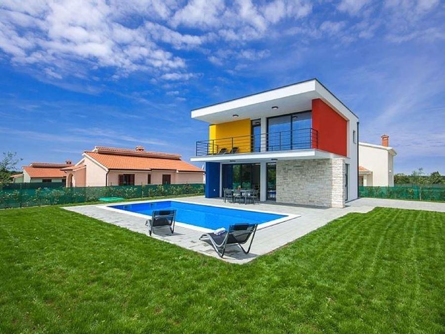 Dipingere esterno casa unifamiliare consigli e costi habitissimo - Colori per esterno casa foto ...