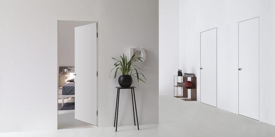 Fornitura porte interne tipologie e costi habitissimo - Porte interne a filo muro ...
