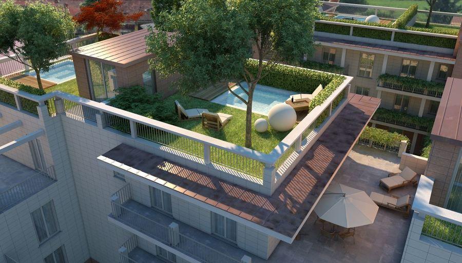 Preventivo tetto terrazza online habitissimo - Giardino a terrazze ...