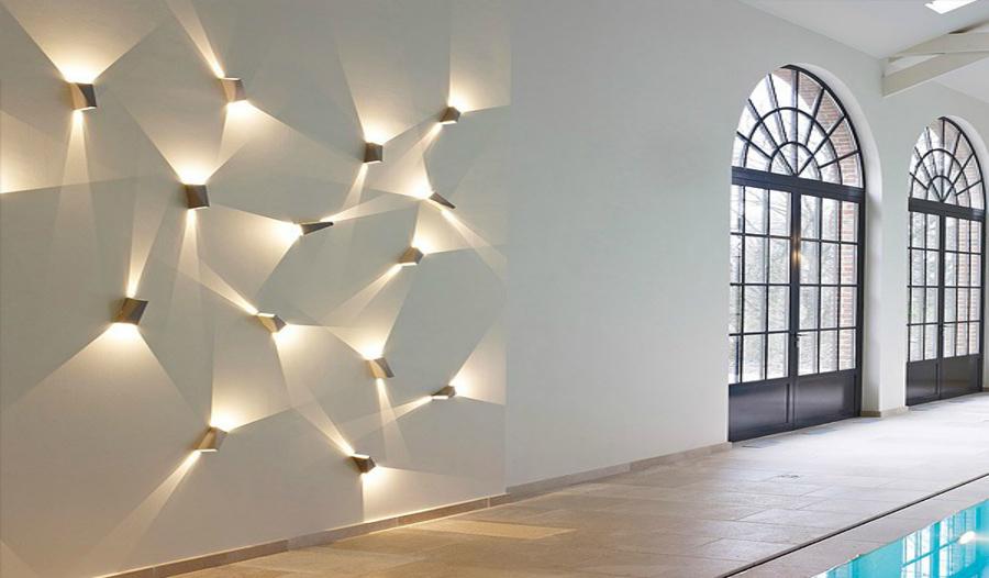 Prezzi e caratteristiche dell 39 illuminazione per interni habitissimo - Illuminazione da parete design ...
