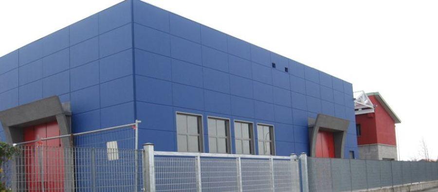 Costruire un edificio industriale